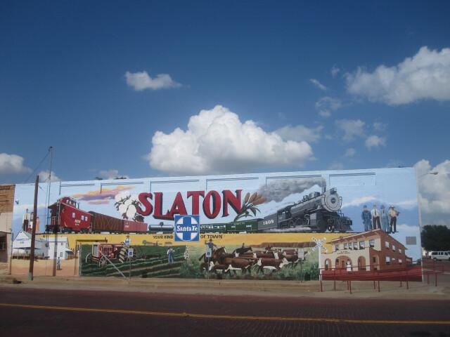 Revised Slaton  TX  mural IMG 4664 image