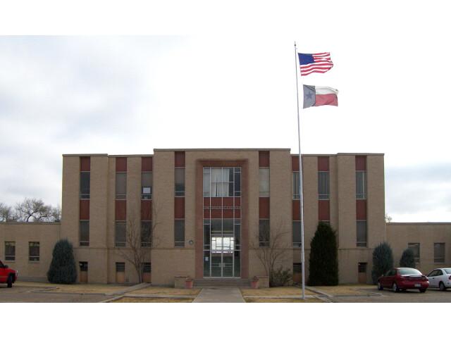 Swisher county courthouse 2009 image