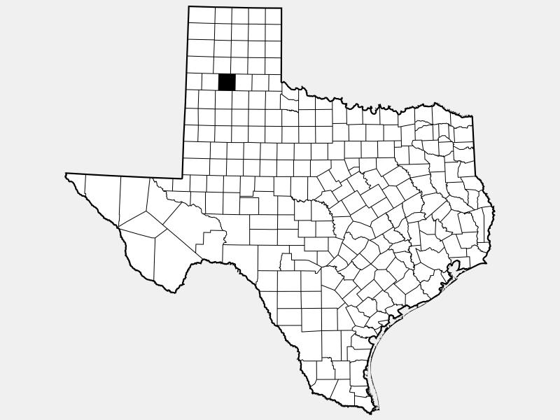 Swisher County locator map