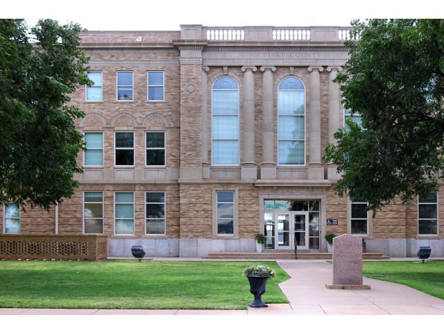 Terry County Texas Courthouse 2019 image
