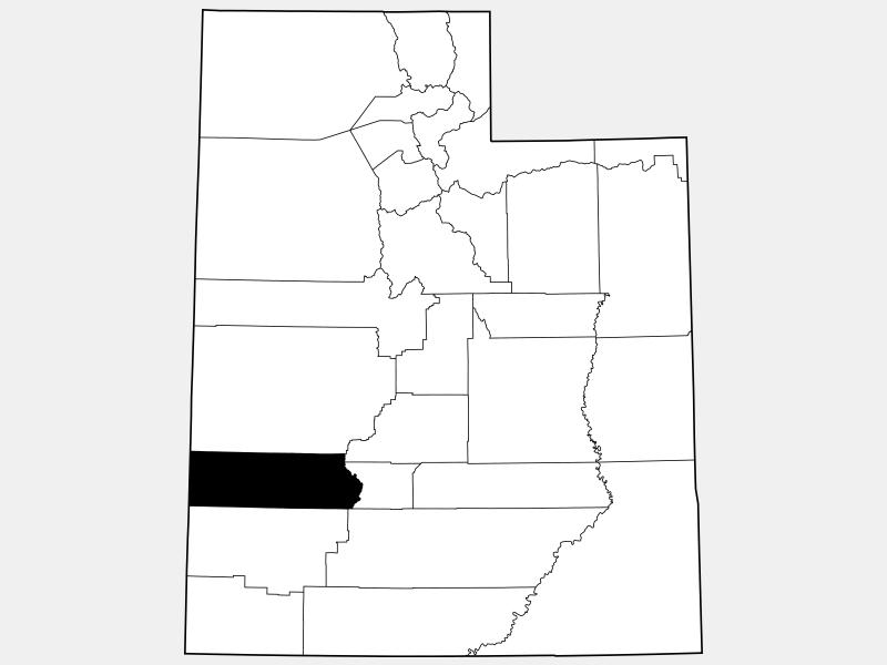 Beaver County locator map