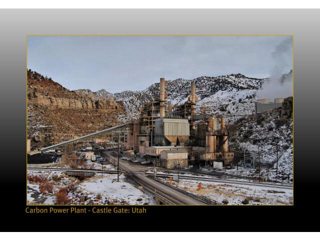 Carbon power plant at Castle Gate Utah - panoramio image