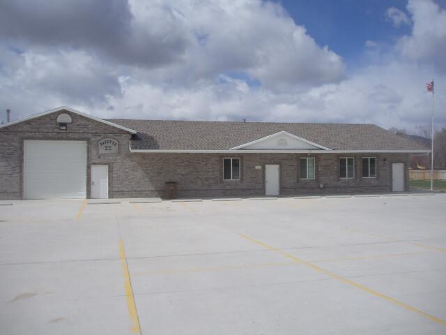Fayette Utah town hall. image