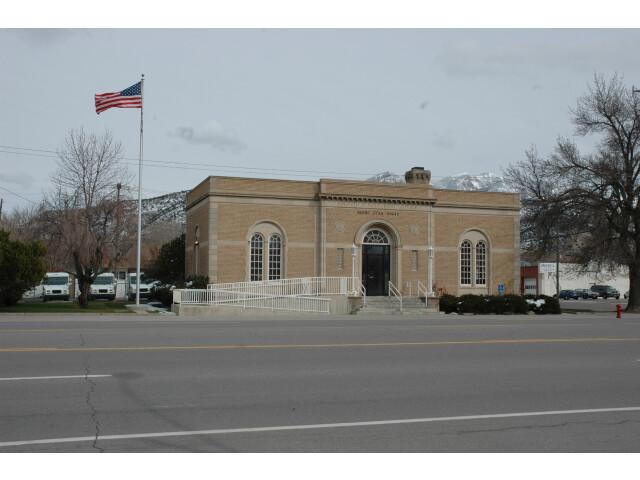 Nephi Utah post office. image