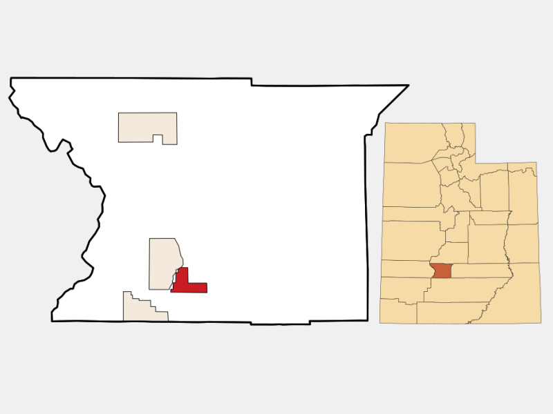 Kingston location map