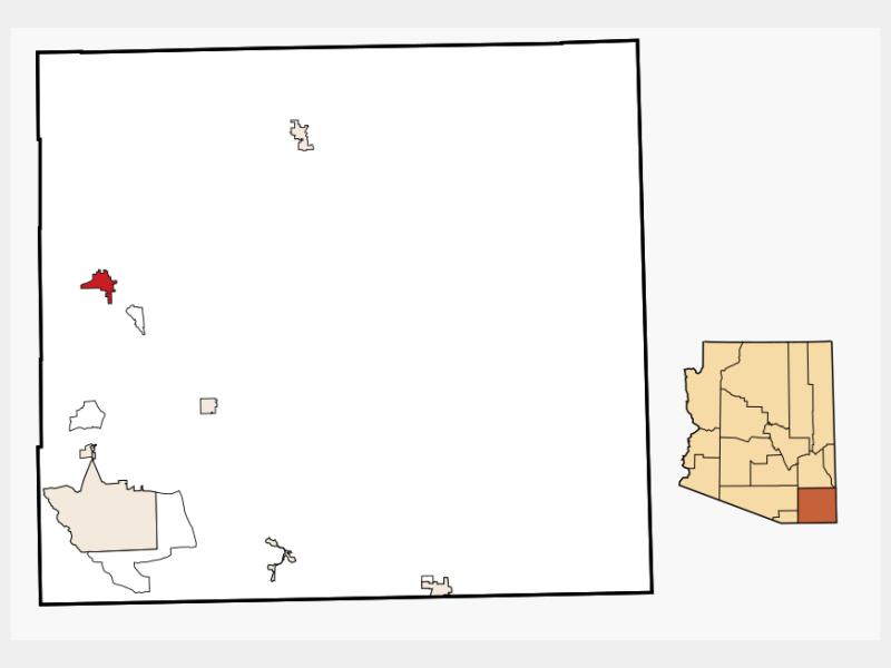 Benson locator map