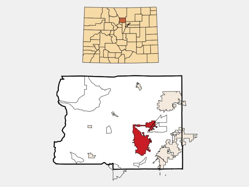 Boulder locator map