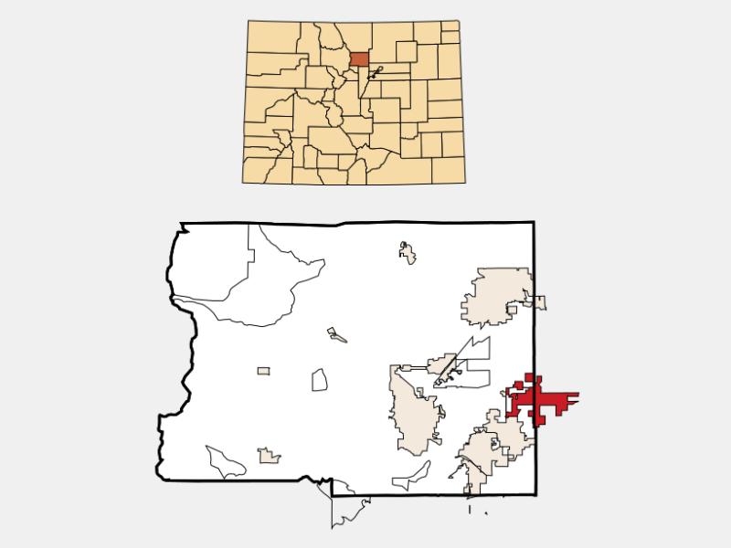 Erie locator map