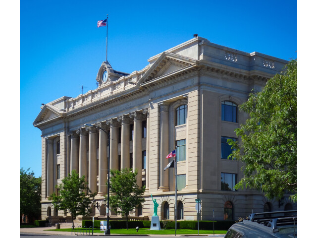 Greeley  Colorado Courthouse image