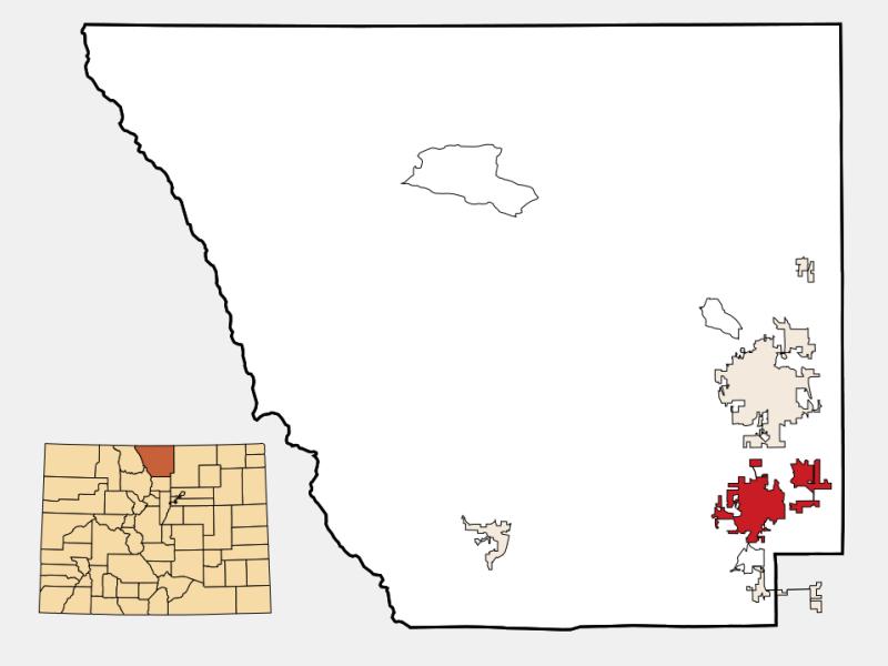 Loveland locator map