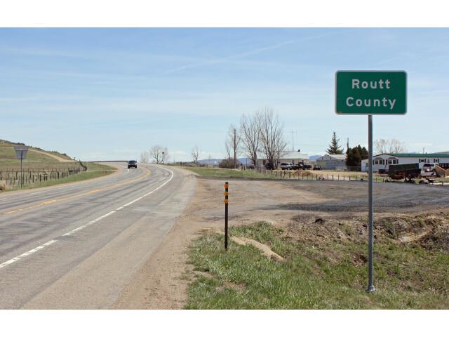 Routt County  Colorado image
