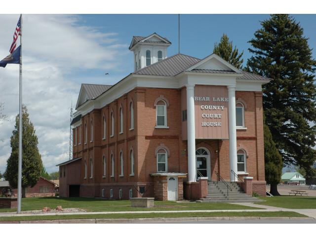 Bear Lake County Courthouse Paris Idaho. image