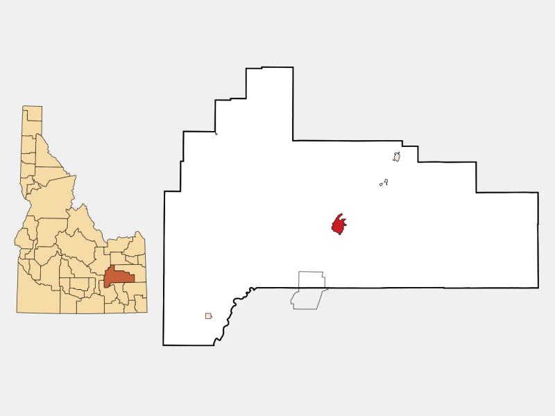Blackfoot location map