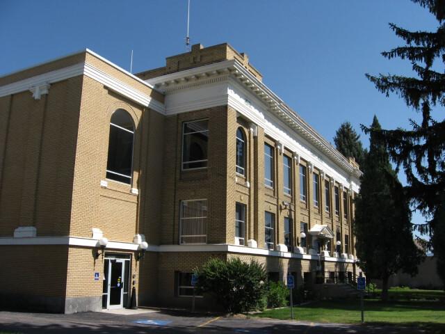 Caribou County Courthouse  Soda Springs  Idaho image