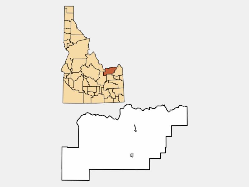 Dubois locator map