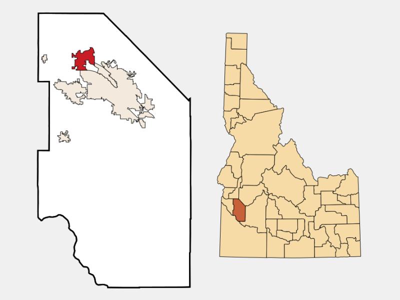 Eagle locator map