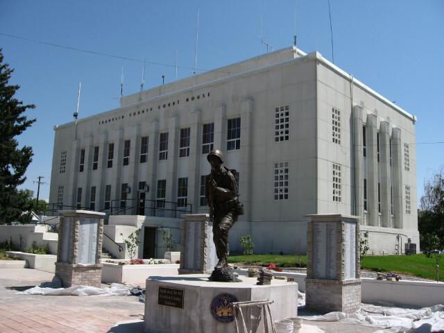 Franklin County Courthouse  Preston  Idaho image