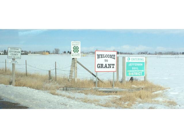 Entering Grant  Idaho image