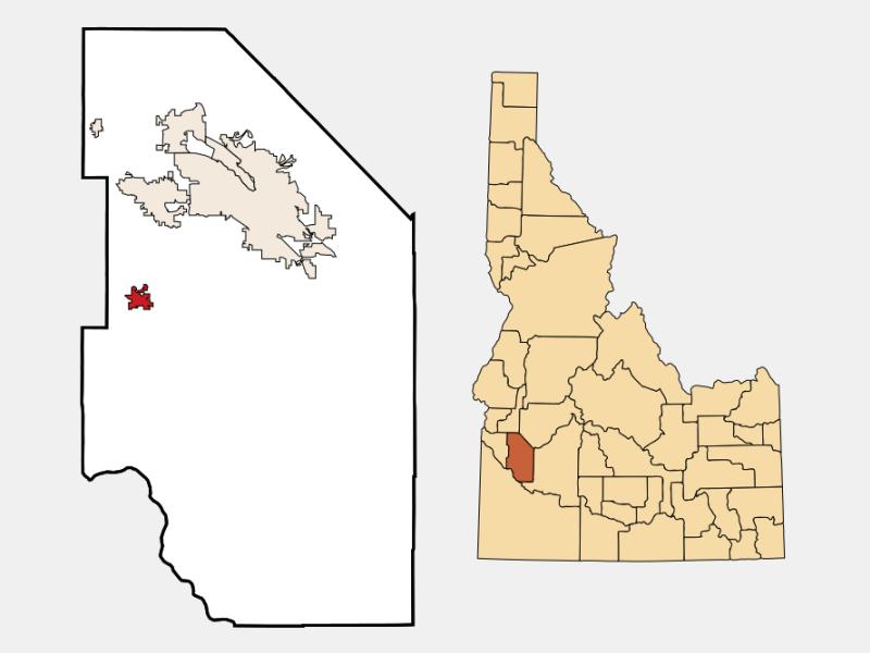 Kuna locator map