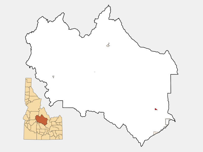 Mackay locator map