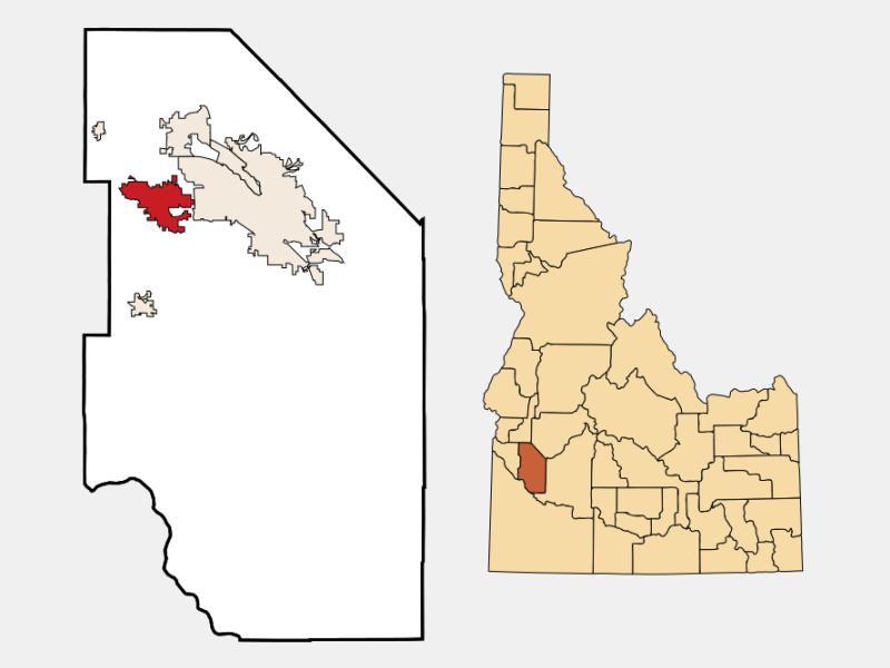 Meridian locator map