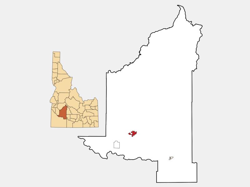 Mountain Home locator map