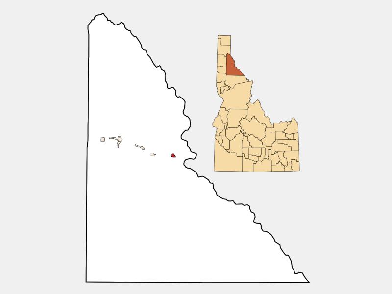 Mullan locator map