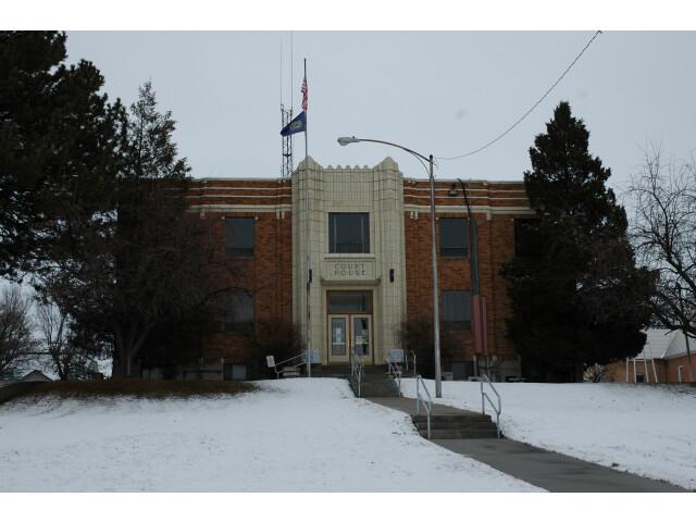 Oneida County Courthouse Malad Idaho. image