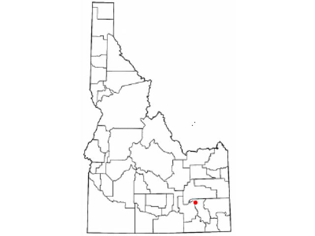 Pocatello locator map