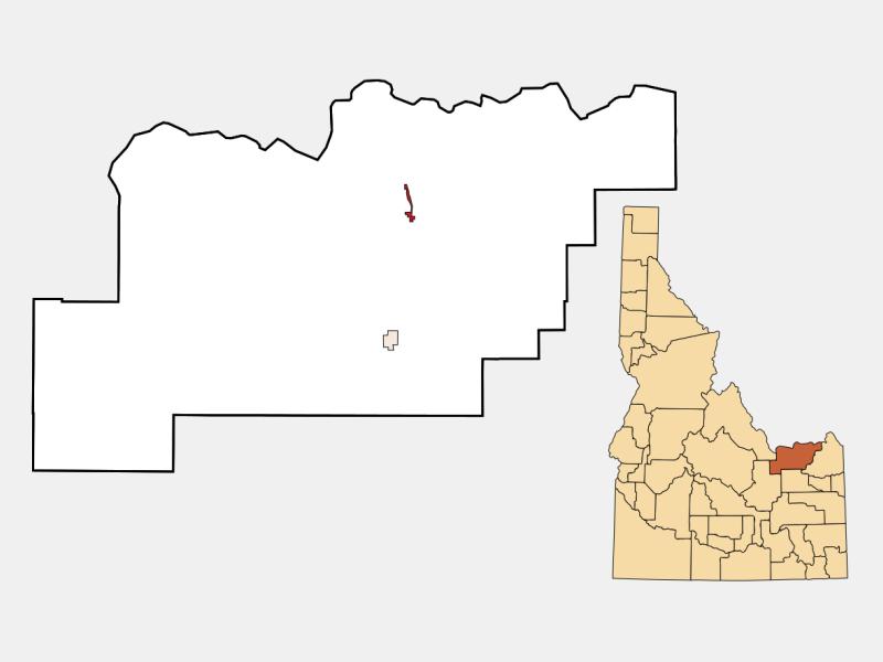Spencer locator map