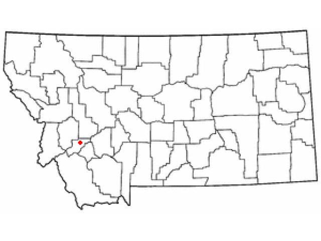 Anaconda locator map