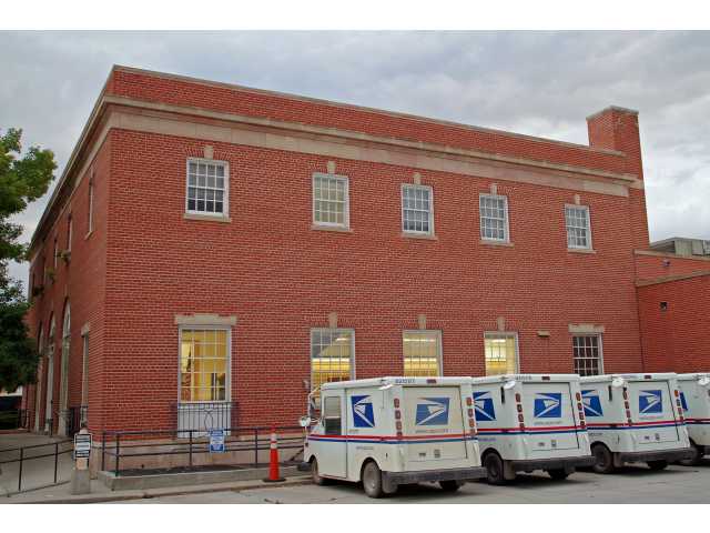 US Post Office - Dillon Main '2013' - Beaverhead County  Montana image