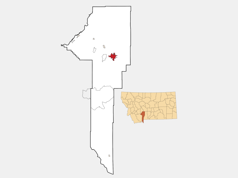 Bozeman locator map
