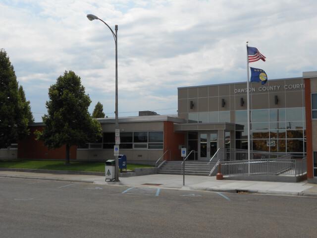 Dawson County Courthouse- Glendive MT image