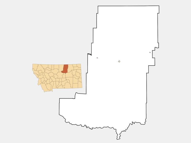 Dodson location map