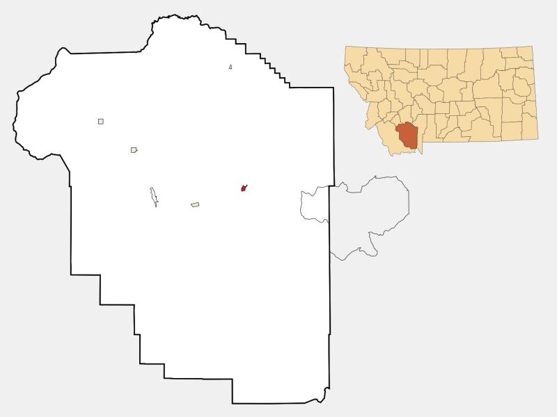 Ennis locator map