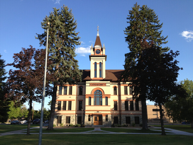 Flathead County Courthouse Kalispell Montana 20130719 image