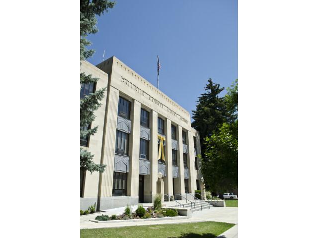 Looking ENE - Gallatin County Courthouse - Bozeman Montana - 2013-070-09 image