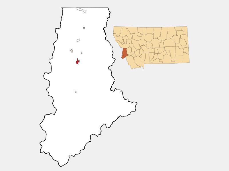 Hamilton locator map