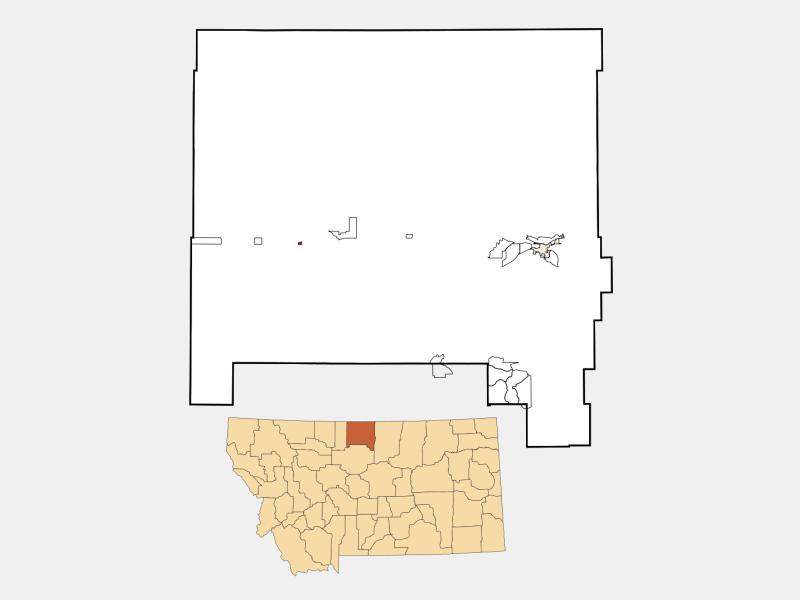 Hingham location map