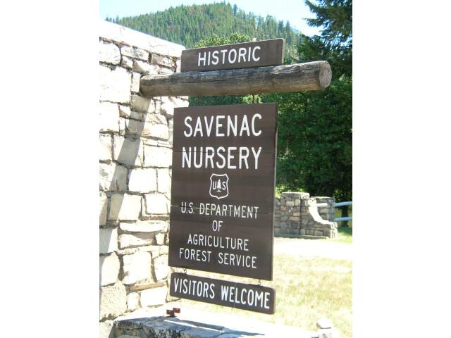 Welcome Sign - Historic Savenac Tree Nursery image