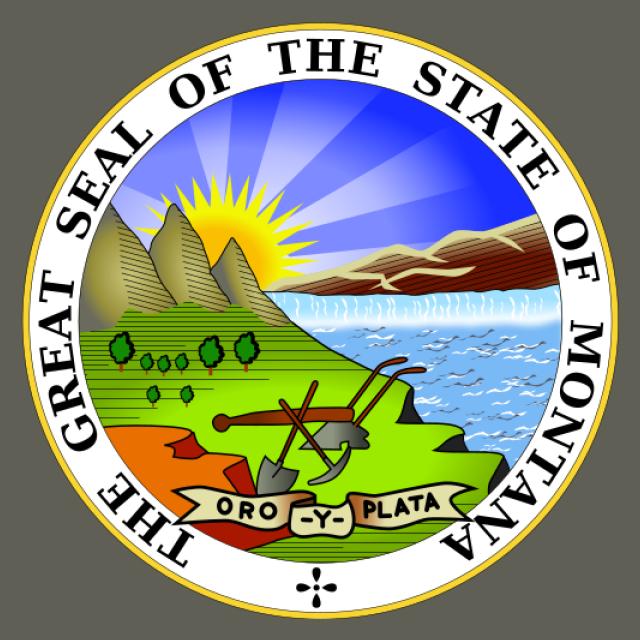 Seal of Montana seal image