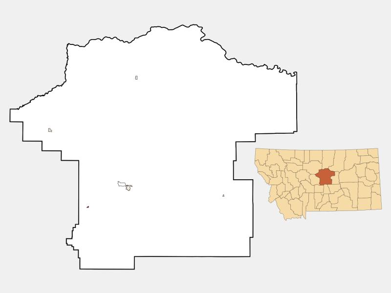 Moore locator map