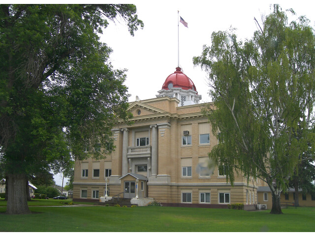 Richland county courthouse image