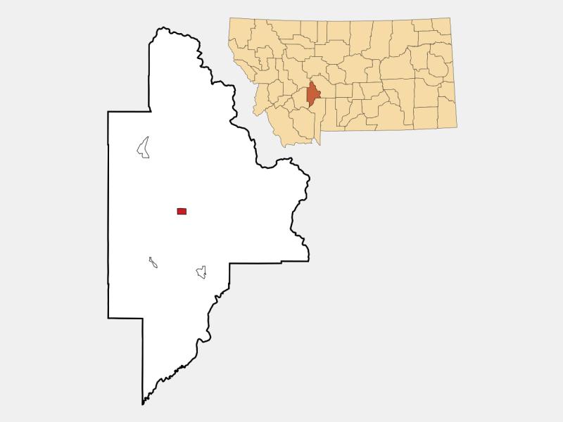 Townsend locator map