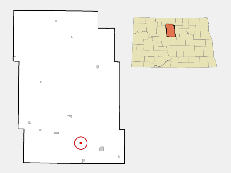 Balfour locator map