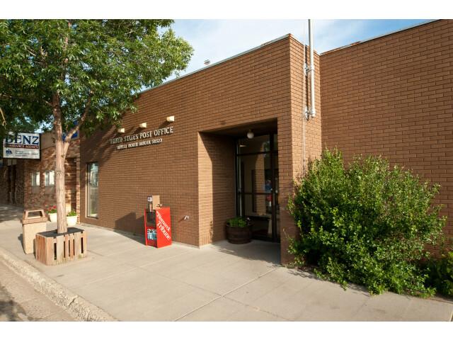 Post office in Beulah  North Dakota 7-16-2009 image