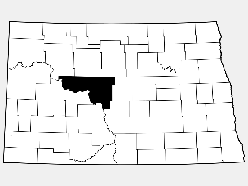 McLean County locator map