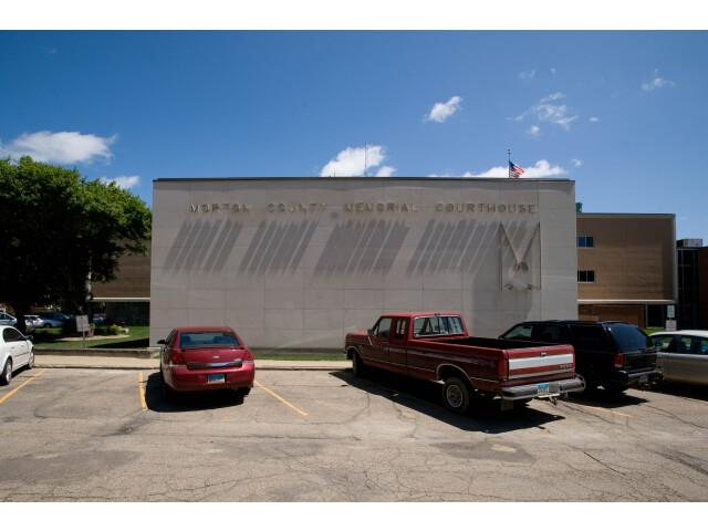 Morton county north dakota courthouse 2009 image