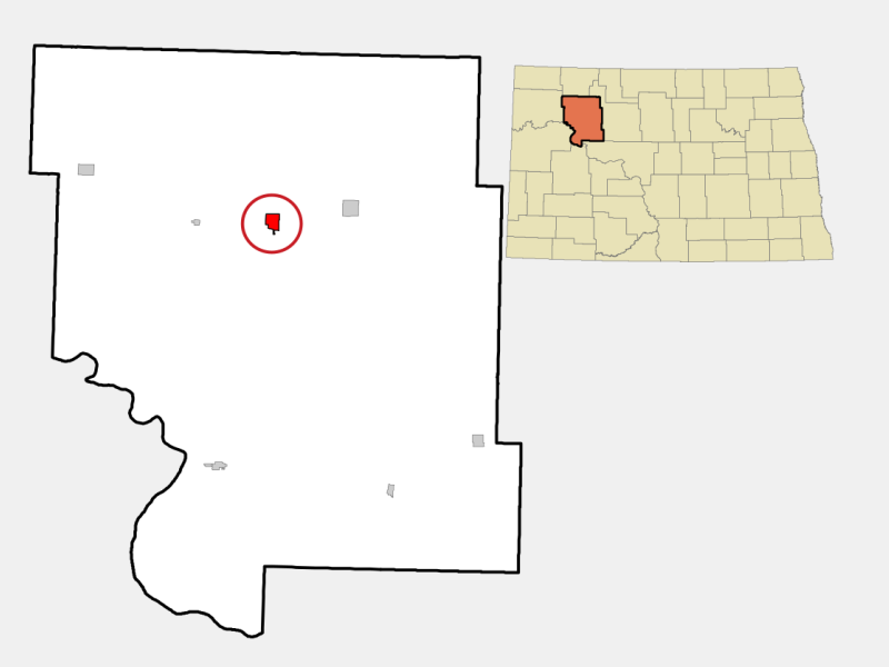 Stanley locator map